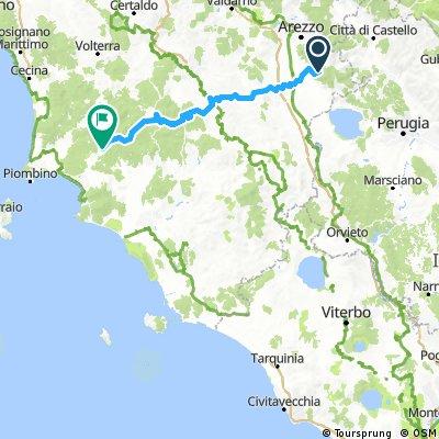 Toskana-Latium-Tour 2016