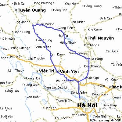 Hanoi-Ba Hang-Dai Tu-Vinh Yen-Hanoi