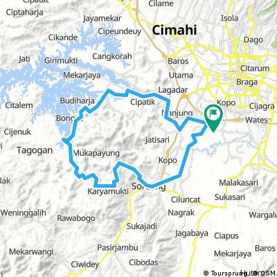 Puncak Mulya 2nd Route