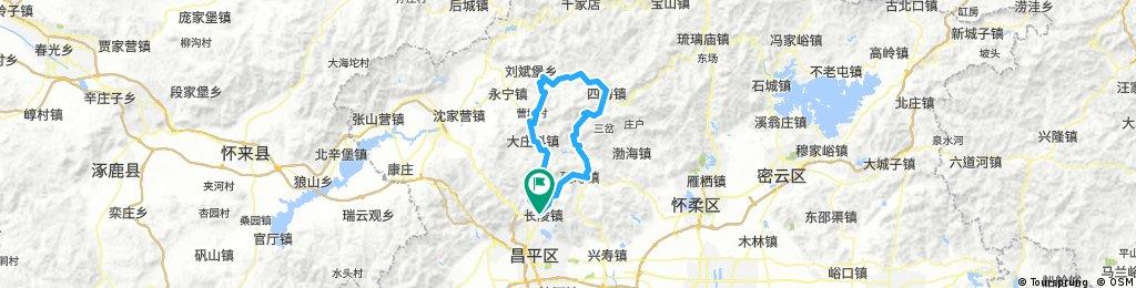 Long bike tour through Beijing