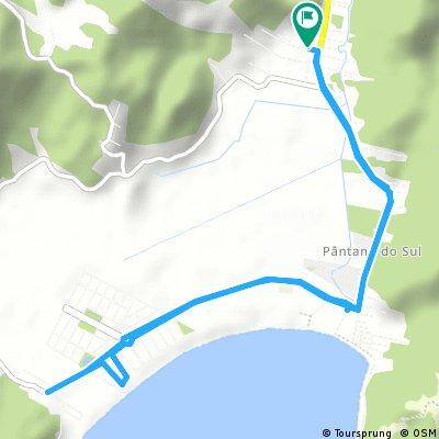 ride through Florianópolis