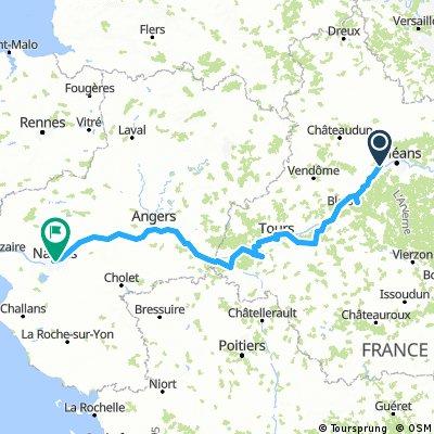Von Orleans nach Nantes - September 2016