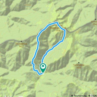 Test route Pop Ivan