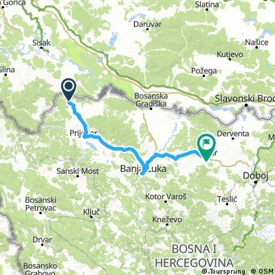 Ziua 28: Gomja Slabinja - Prnjavor (BiH)