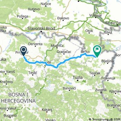 Ziua 29: Prnjavor - Brcko (BiH)