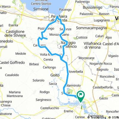 Mantova - Volta M. - Cavriana - Castellaro Lagusello - Pozzolengo - Peschiera del Garda