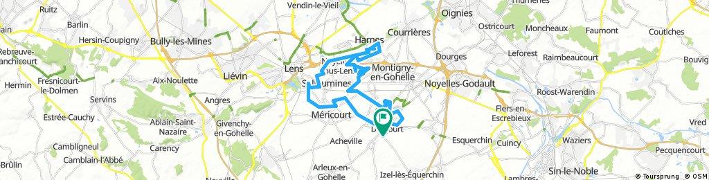la drocourtoise vtt (43kms)