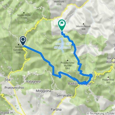 Passo della Calla-Eremo Camaldoli-Badia Prataglia-La Lama-Ridracoli