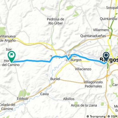 13 Burgos - Hornillos del Camino