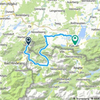6.Etappe ca. 55 Km
