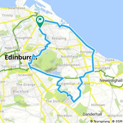 """""""East Edinburgh Parks and Panoramas"""""""