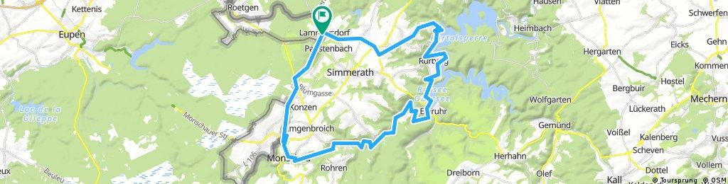 Vennbahn T6 Rhursee 50 km