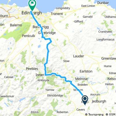 Denholm to Edinburgh