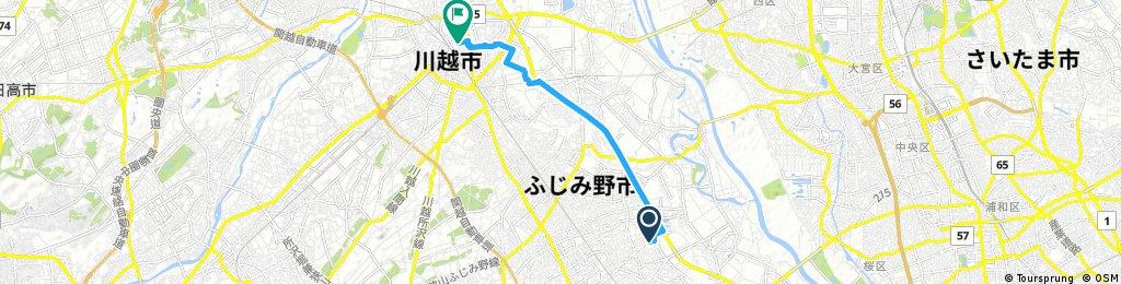 ララポート富士見 to 川越