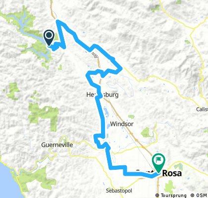 Santa Rosa 70,3 (estimate)