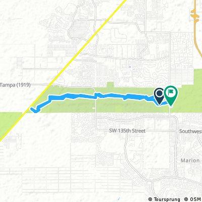 Bike In Ocala Nails Trail