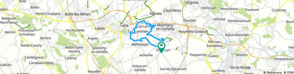 la drocourtoise vtt (35kms)