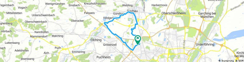 München Nordwestroute