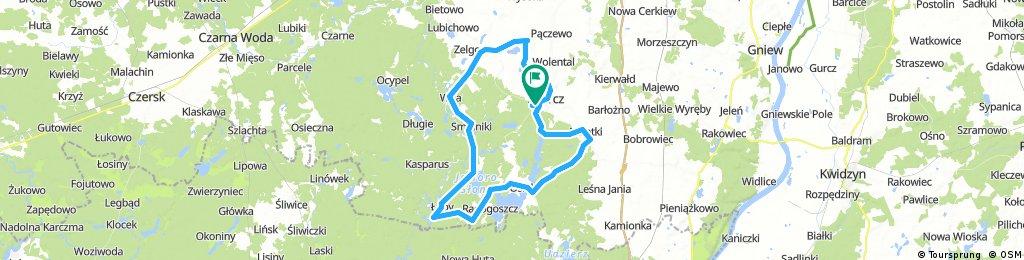 Aktywni Skórcz MTB - 60 km