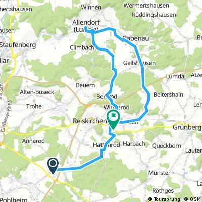 Von Steinbach nach Allendorf Lumda