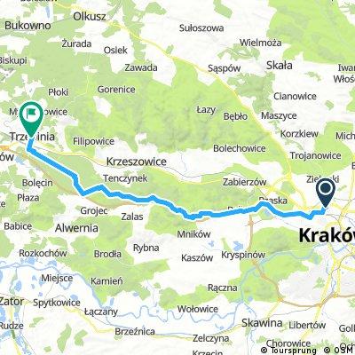 krakow - trzebinia