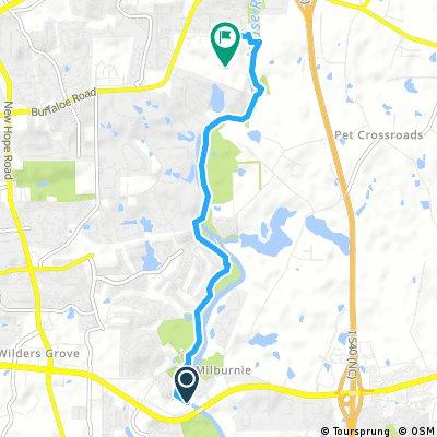 Brief bike tour through Raleigh