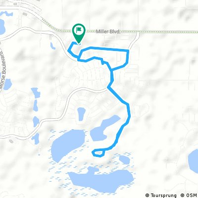 Short bike tour through Fruitland Park