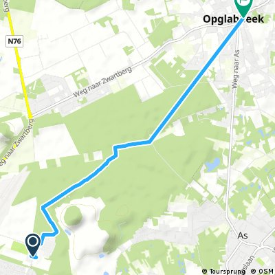 Short ride from Genk to Opglabbeek