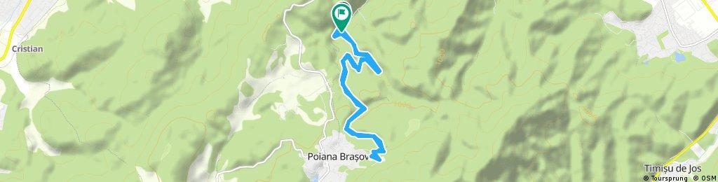 Brașov to Poiana Brașov
