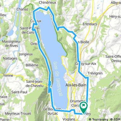 Tour du lac par la Chambotte