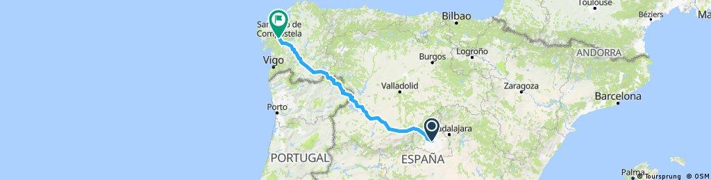 Madrid - Santiago de Compostela