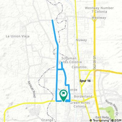 ride through El Paso