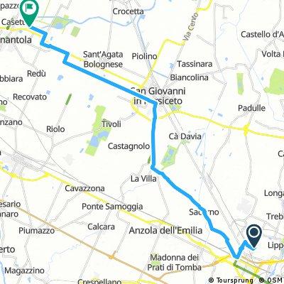 Bologna Airport to Nonantola