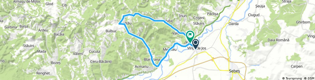 Vinţu de Jos - Blandiana - Piatra Tomii - Valea Vinţului