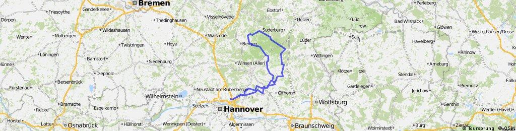 RTF - Heide Marathon - Altwarmbüchen