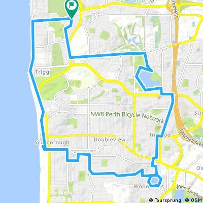 bike tour through North Beach