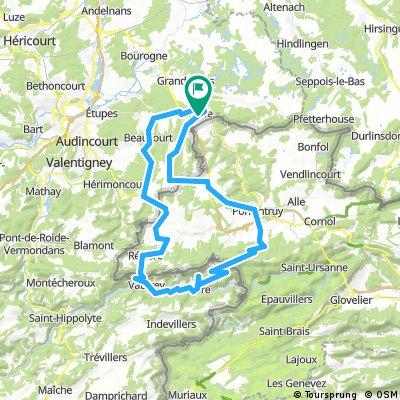 Parcours Suisse 80km