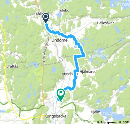 19,0 Lindome-Dalavägen-Hede