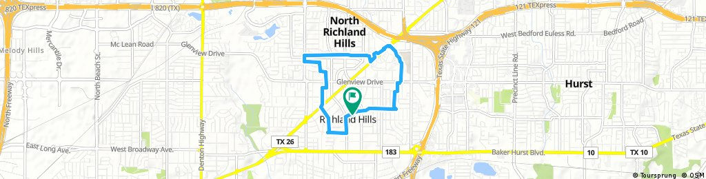Quick bike tour through Richland Hills