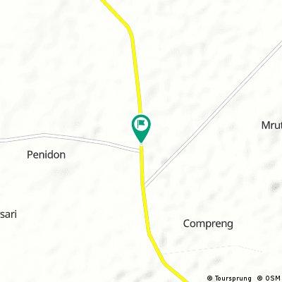 Brief ride through Tuban