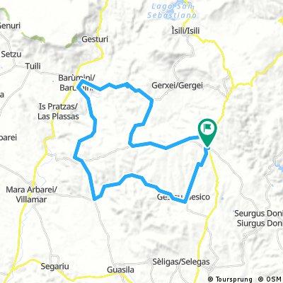 Lunetta - Barumini loop