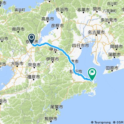kyoto to ise wan