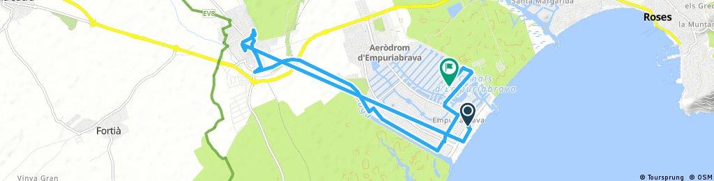 Empuriabrava- Castello Empuria und retour 05.11.16, 13:30