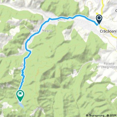 Traseu spre Cuejdel