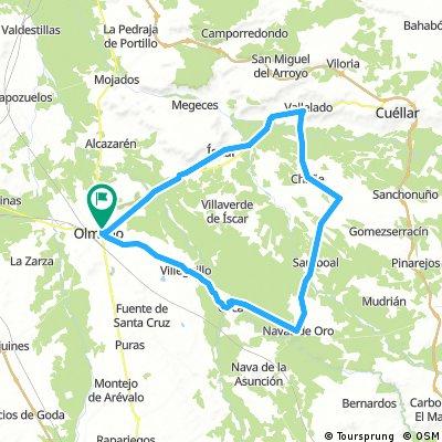 Olmedo - Íscar - Vallelado