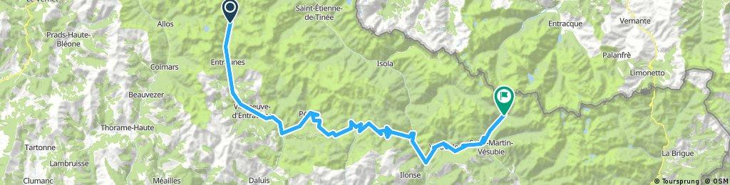 Route des Grandes Alpes - Col de la Cayolle - Le Boreon