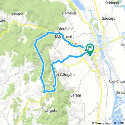 BC - Magura - Han - VOR (globul radar) - Valea Budului
