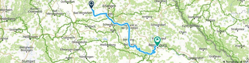 Deel 06 Ldam - Wenen: Van Neustadt naar Regensburg 20161115