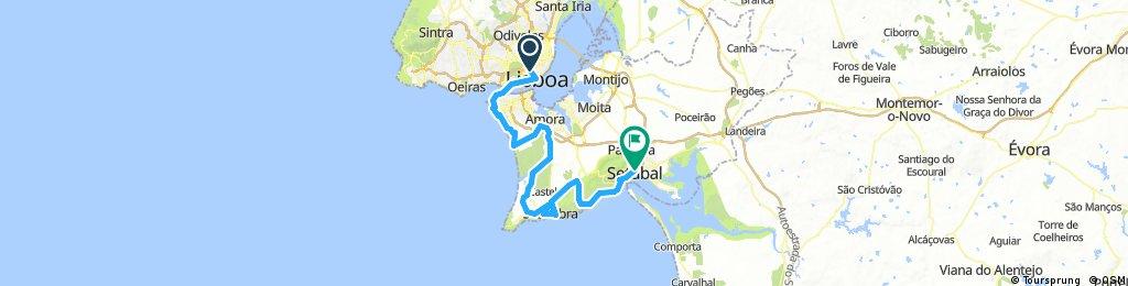 Lisbon to Setubal