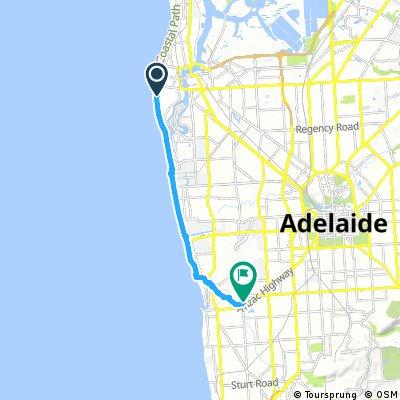 ride from Semaphore Park to Camden Park